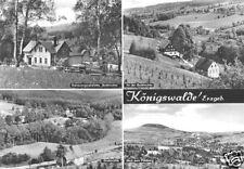 AK, Königswalde Erzgeb., vier Abb., 1972