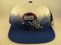 New York Giants NFL Vintage Snapback Hat Cap White Blue