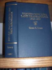 Western New York Land Transactions 1825-1835 Genealogy Book