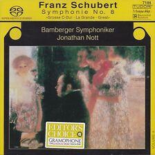 [NEW] SACD: SCHUBERT SYMPHONIE NO.8: BAMBERGER SYMPHONIKER / JONATHAN NOTT