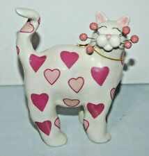 Whimsiclay Amy Lacombe 2002 Sweetheart 86086 Cat