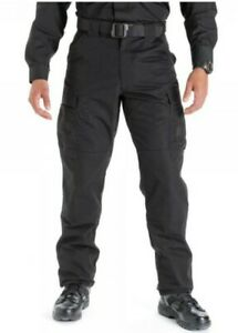 5.11 Tactical TDU Ripstop Trousers - Black - Mens - Med/Reg - R.R.P: £60 - New