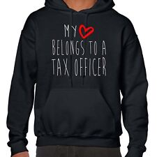My Heart Belongs To A Tax Officer Hoodie