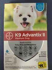 Bayer K9 Advantix Ii Flea, Tick and Mosquito 6pk. Med dog Free Shipping