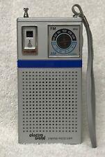 Vintage ELECTRO-BRAND Transistor 2 Band AM & FM Transistor Radio w/ Hand Strap