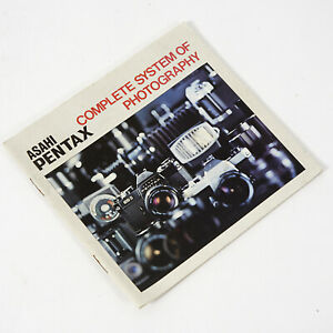 ASAHI PENTAX COMPLETE SYSTEM OF PHOTOGRAPHY - Product Booklet