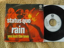 """Status Quo  - Rain/You Lost The Love -  Dutch Picture Sleeve PS 7"""""""