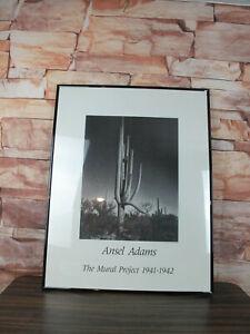 Vintage Ansel Adams 22x28 The Mural Project 1941-1942 Unframed Art Poster Board