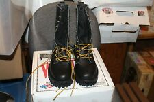 PRICE DROP Whites Smoke Jumper Firefighter boots 400V BLACK SIZE 5FFF