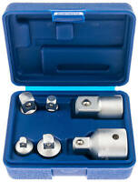 Steckschlüssel Satz Adapter Nuss Set 6-tlg 1/4 3/8 1/2 auf 3/4 Zoll Werkzeug Kfz