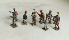 9 VINTAGE LEAD SOLDIERS 6.5cm Tall