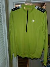 PEARL iZUMi PRO Aero Long Sleeve Cycling Jersey Fluorescent Neon Green XXL