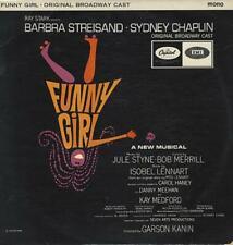 Barbra Streisand vinyl LP album record Funny Girl UK W2059 CAPITOL 1964