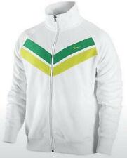 Nike Roger Federer Rafael Nadal Victory Style Swoosh Tennis Jacket White Green S