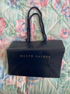 Ralph Lauren  gift shopper  paper Carrier bag