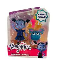 Disney Junior Vampirina Best Ghoul Rocker Vee and Buttons Doll Figure Toy New