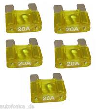 5x Flachsicherung MAXI 20A Leistungssicherung Sicherung kfz Auto Fuse APX Zeeman