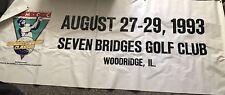 Rare Michael Jordan 1993Ronald McDonald Celebrity Championship Banner