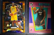 Shaquille O'Neal 2019-20 Prizm Orange Cracked Ice & Donruss Retro Press Proof