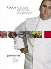 Tapas: A Taste of Spain in America by Jose Andres Hardcover Book (English)