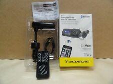 Scosche Handsfree Car Kit With FM Transmitter - Bluetooth - Open Box