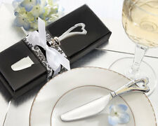 Spread The Love Chrome Heart-Shaped Handle Spreaders Wedding Favor