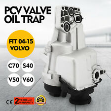 31338685 PCV Valve Oil Trap Oil Filter Housing For 2004-14 Volvo C70 S40 V50