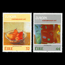 Ireland 1993 - EUROPA Stamps - Contemporary Art - Sc 895/6 MNH