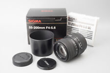 Sigma Zoom 55-200mm f/4-5.6 DC Auto Focus Lens, For Pentax K PK Mount