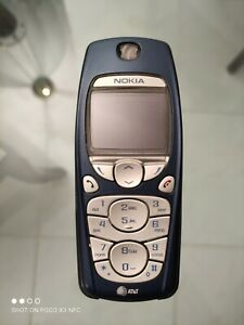 Nokia 3595 - Blue (AT&T) Vintage Cellular Cell Phone