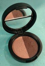 Laura Geller ImPRESSions Eye Shadow Liner Duo FINE WINES Matte Brown / Pale Pink