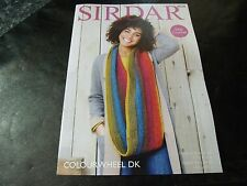 Sirdar Colourwheel Double Knitting Easy Crochet Pattern number 8028 Poncho