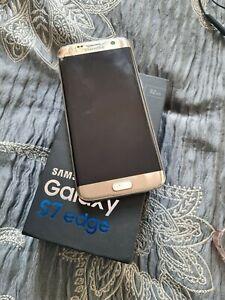 Samsung Galaxy S7 edge Platinum Gold Unlocked 32GB