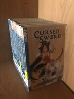 Chronicles Of The Cursed Sword Manga 12 Book Lot