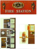 Fisher-Price Little People Fire Station #928 REPLACEMENT LITHOS STICKERS DECALS