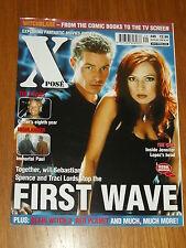 XPOSE #49 BRITISH MAGAZINE VISUAL IMAGINATION SEPTEMBER 2000 FIRST WAVE X-FILES