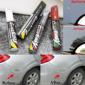 12ml Paint Repair Pen Scratch Remover Touch Up Clear Coat Applicator Fix Tool