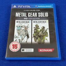 PS VITA METAL GEAR SOLID HD Collection REGION FREE PAL UK Version PSVITA