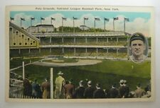 Vintage Polo Grounds Baseball Park w/ JOHN McGRAW  New York Giants Unposted