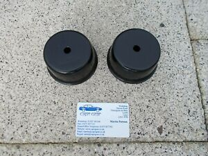 Ford Capri 2.8 injection. Engine mounting support cups, Powdercoated.