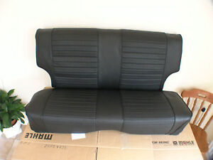 ESCORT MK1 REAR SEAT COVERS NEW IN VINAL rs1600 twincam mexico bda sport