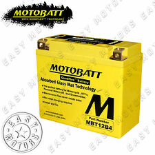 BATTERIA MOTOBATT MBT12B4 DUCATI SUPERSPORT 1000 2003>2006