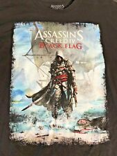 Assasin's Creed Mens Black Flag  T-shirt 2XL