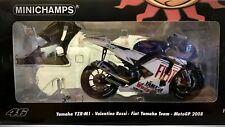 Minichamps - Valentino Rossi MotoGP 2008  Fiat Yamaha Team - 1:12th