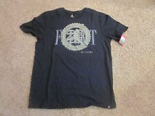 Air Jordan black T-Shirt Tee Shirt Xl- Nwt Ret $35