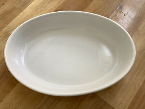 Off White Porcelain Oven Dish Made In Portugal 24x 17x5cm