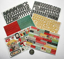 NO 250 SCRAPBOOKING - OVER 150 PLUS FAMILY THEMED SAYINGS & ALPHABET STICKERS