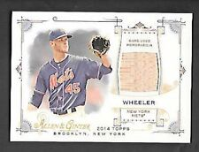 ZACH WHEELER 2014 ALLEN & GINTER GAME USED RELIC BAT #FRB-ZW FREE COMBINED SH