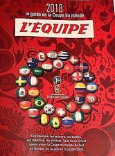 L'EQUIPE*GUIDE COUPE DU MONDE RUSSIE 2018*EQUIPES*JOUEURS*STADES*CHIFFRES*MATCHE