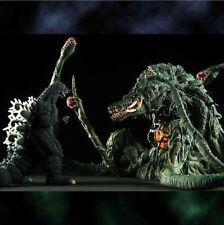 X-PLUS TOHO Godzilla 1989 & Biollante Figure Gimmick ver. Large Monster Series